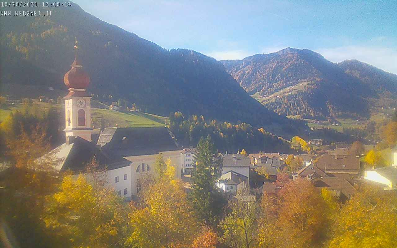 Live webcam from Ortisei - Val gardena